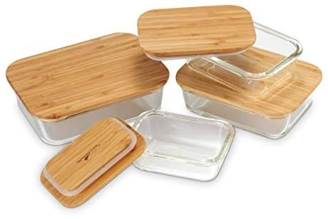 Nummyware Plastic Free Glass Food Containers With Sustainable