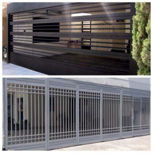 50 Disenos De Puertas Portones Rejas Jun 2018 Rejas Para Casas Rejas Para Casas Modernas Portones Modernos Para Casas