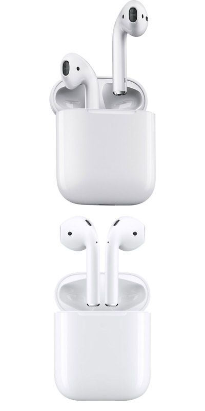 Apple Airpods With Charging Case White Mmef2am A Airpod 1st Gen Apple Case Cell Phone