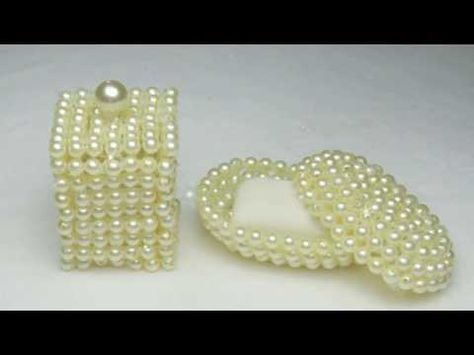This DIY soap dish decorated with pearls looks so chic! videos soap This DIY soap dish decorated with pearls looks so chic!