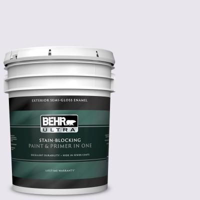 Behr Ultra 5 Gal 650c 1 Pixie Wing Semi Gloss Enamel Exterior Paint And Primer In One Exterior Paint Behr Paint Primer