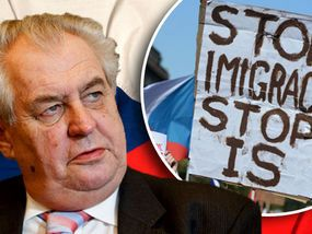 CZECH President Milos Zeman has called for a total ban on migrants and refugees entering his country to prevent Islamist attacks.