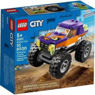 Lego City Monster Truck Building Set 60251 In 2020 Monster Trucks Lego City Monster Truck Toys