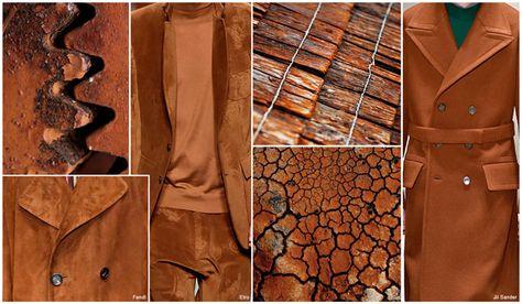 Top Color, Menswear Market, F/W 2016-17, Rusted Copper