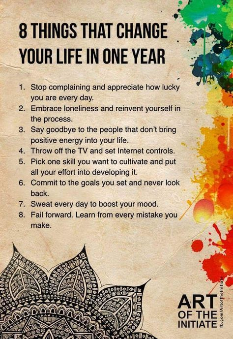 8 Things That Change Your Life in One Year – Joanne Guidoccio