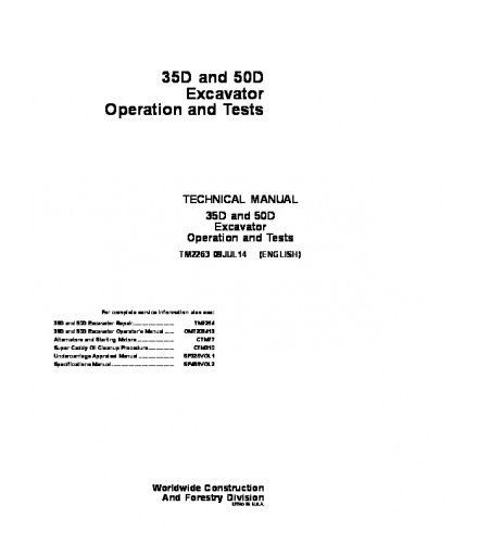Tm John Deere K Wheel Loader Operation And Test Manual Pdf