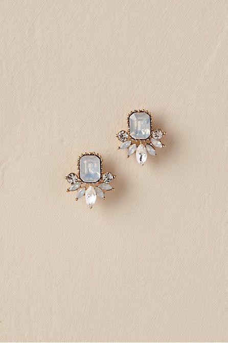 54419a1874619 Wendy Studs | The Big W in 2019 | Jewelry, Bridal jewelry, Bridal ...