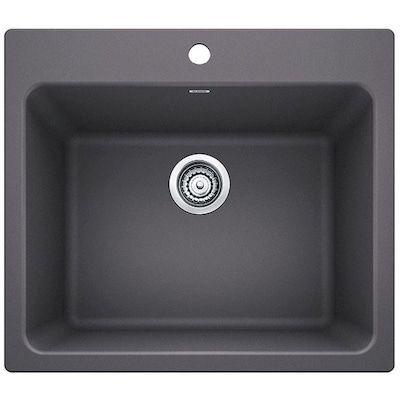 Asb 104050 0 White Drop In Plastic Utility Tub Laundry Room Diy