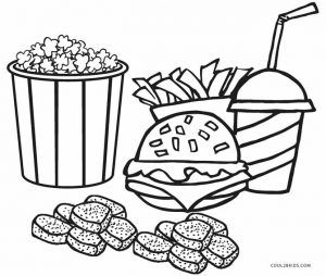 Food Coloring Pages With Images Food Coloring Pages Coloring