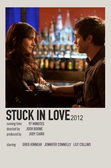 Stuck In Love By Isabella Movies To Watch Teenagers Good Movies To Watch Film Posters Minimalist