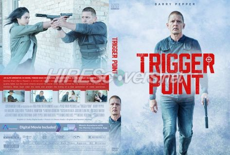 DVD Cover Custom DVD covers BluRay label movie art - DVD CUSTOM Covers - T / Trigger Point (2021)