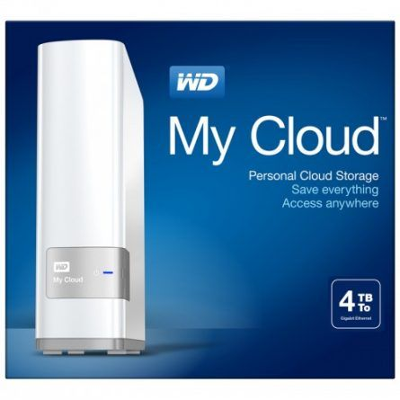Western Digital Wd 4tb My Cloud Personal Cloud Nas Nas Storage Cloud Storage Clouds
