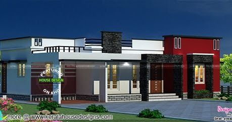20 Lakhs Cost Estimated One Floor Home In 2020 Kerala House Design Dream House Plans Family House Plans
