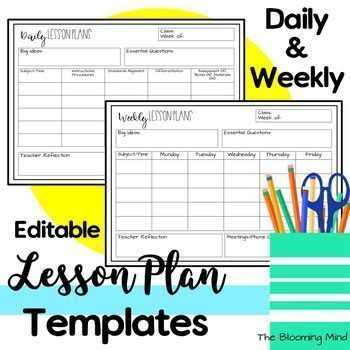 Free Infant Lesson Plans Child In 2020 Preschool Lesson Plan Template Editable Lesson Plan Template Weekly Lesson Plan Template Free lesson plan template for preschool