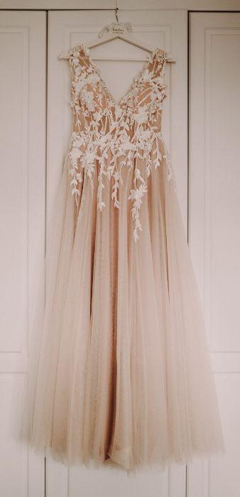 Suknia Slubna La Petra Una 3d R 38 40 Flower Girl Dresses Dresses Fashion