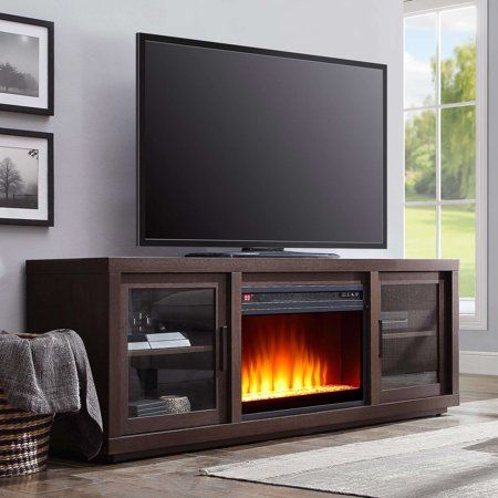 Better Homes Gardens Steele Media Fireplace Console Television