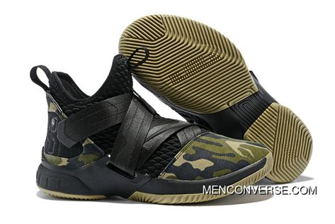5cf3f928803424 1931 12 Nike Lebron Soldier 12 Green Camo 2018 Super Deals