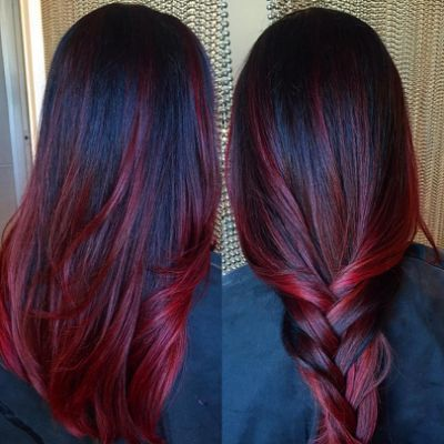50 Stunning Dark Red Hair Color Dark Red Hair Color Red Ombre Hair Light Hair Color