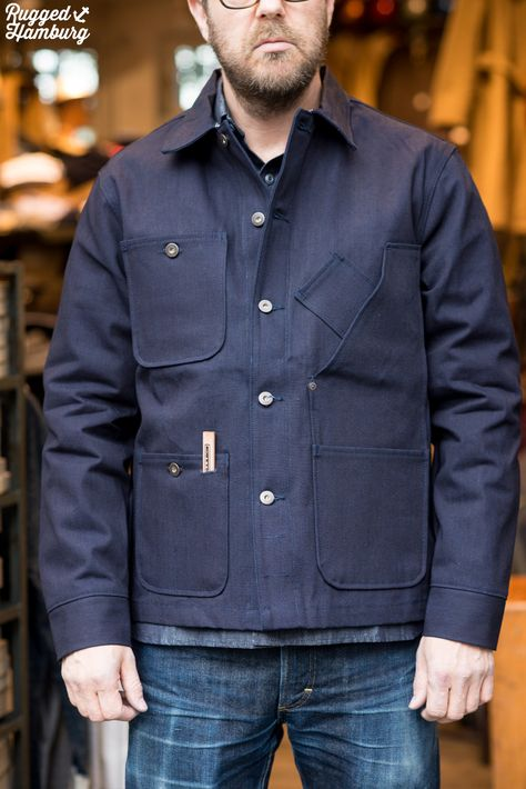 Tellason Denim - Raw denim jeans made in San Francisco from fabric made in North Carolina.