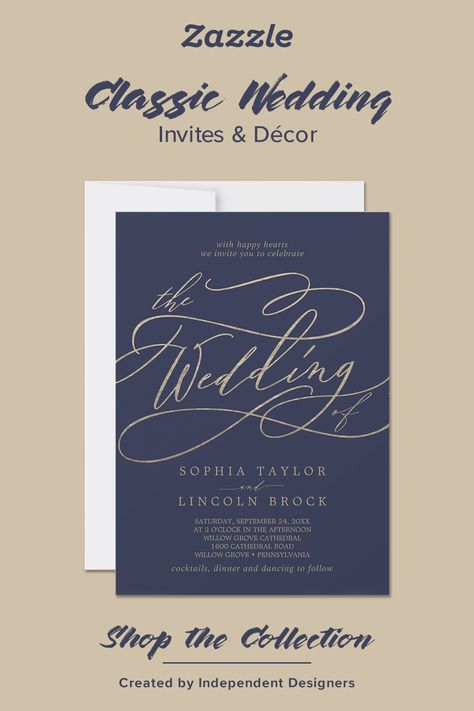 Classic Wedding - Zazzle