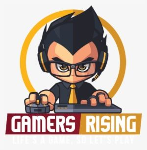 Pc Gamer Logo Png Gamers Rising Free Transparent Png Download Pngkey Criancas