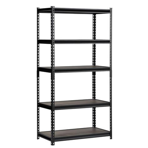 1675dd5594a Edsal 36 in. W x 72 in. H x 18 in. D Steel Commercial Shelving Unit-UR-185WGB  - The Home Depot  80