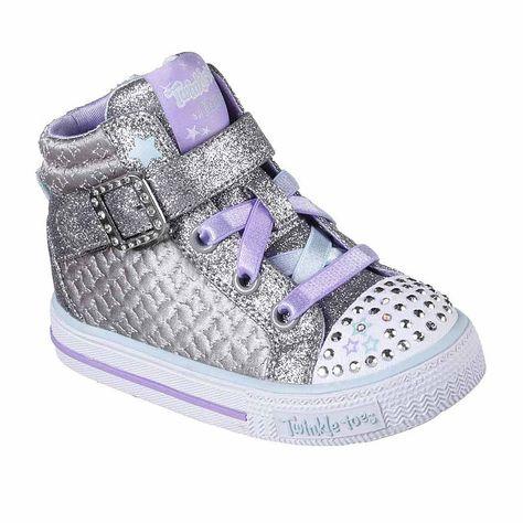 ada164fe3d39 Skechers Twinkle Toes Shuffles Girls Sneakers - Toddler