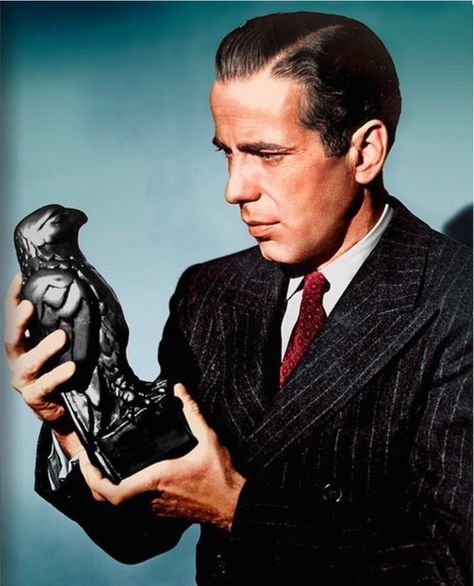 The stuff that dreams are made of. Bogie and the Maltese Falcon.