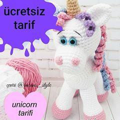 Yummy Baby - Unicorn Amigurumi | MiaMano | 240x240