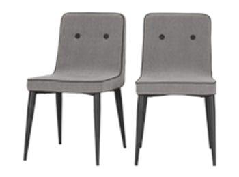 2 X Julietta Esszimmerstuhle Marlgrau Esszimmerstuhle Stuhle Made Com Esszimmerstuhle Esszimmerstuhl Freischwinger