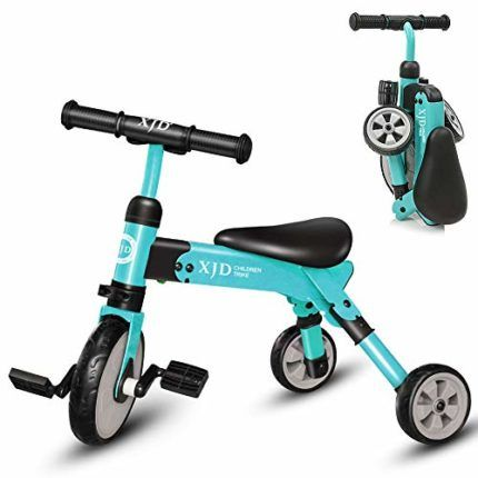 Xjd 2 In 1 Kids Tricycles Very Durable And Strong 4 Colors For Your Choice This Toddler Tricycle Pedals Can Be Removed You Tricycle Toddler Tricycle Kids Trike