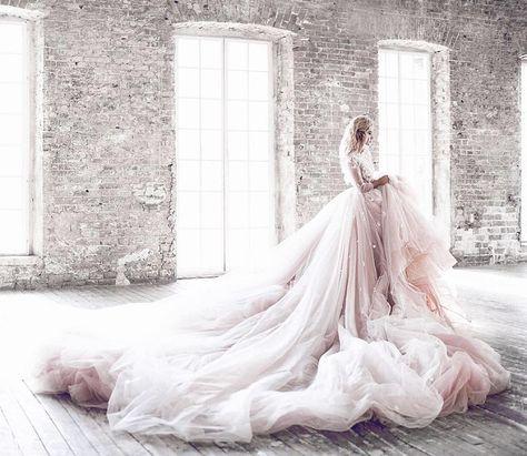 Fairytale wedding dress #weddinggown #fairytale #wedding #princessgown #wedding #inspiration #fairy