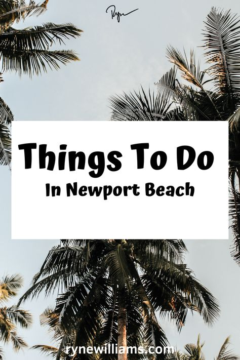 Fun things to do in Newport Beach, California.  All of the best Newport Beach homes, Newport Beach restaurants, and Newport Beach pictures.  I even talk about Newport Beach art!