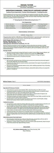 Today is Information Overload Day - supply operation manager resume
