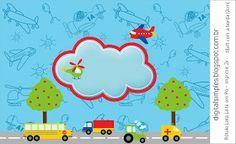 Festa De Aniversario Meios De Transporte Festa Meios De