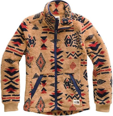The North Face Campshire Full-Zip Fleece Jacket - Women's Cowgirl Outfits, Western Outfits, Western Wear, Cute Country Outfits, Southern Outfits, Mexican Outfit, Jackets For Women, Clothes For Women, Women's Jackets