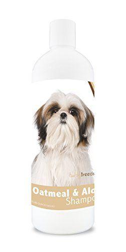 Healthy Breeds Dog Oatmeal Shampoo With Aloe For Shih Tzu Over
