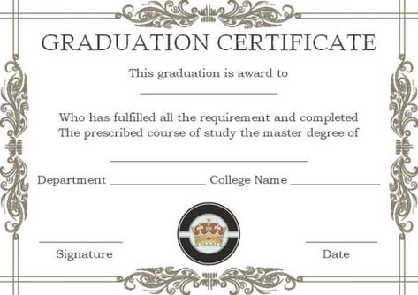 Master degree diploma certificate template Masters degree - fresh french birth certificate translation sample