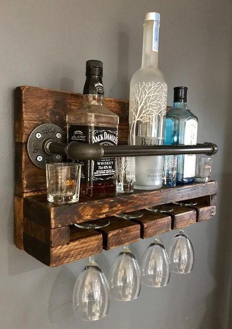 Unique diy pallet wine rack ideas all decoratoo домашний бар