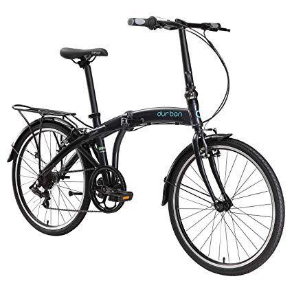 Durban Street Folding Bike- Black Review | Folding bike, Bike