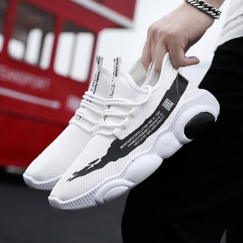 Walking Footwear Breathable Mesh Sneakers - BeFashionova