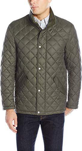 New Cole Haan Men S Quilted Barn Jacket Mens Coats Jacket 168 76 From Top Store Thetrendyclothes Men S Coats And Jackets Leather Jacket Men Cole Haan Men