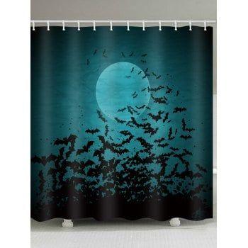 Halloween Bat Shower Curtain Shower Curtain Cool Shower