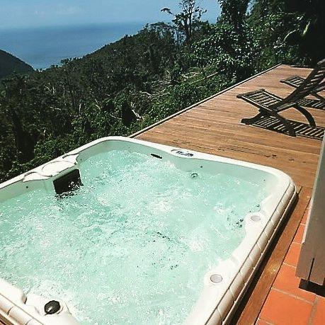 Lodge Blue Mountain Guadeloupe Pointe Noire 97116 Ref 12 Spa Privatif Jacuzzi Guadeloupe