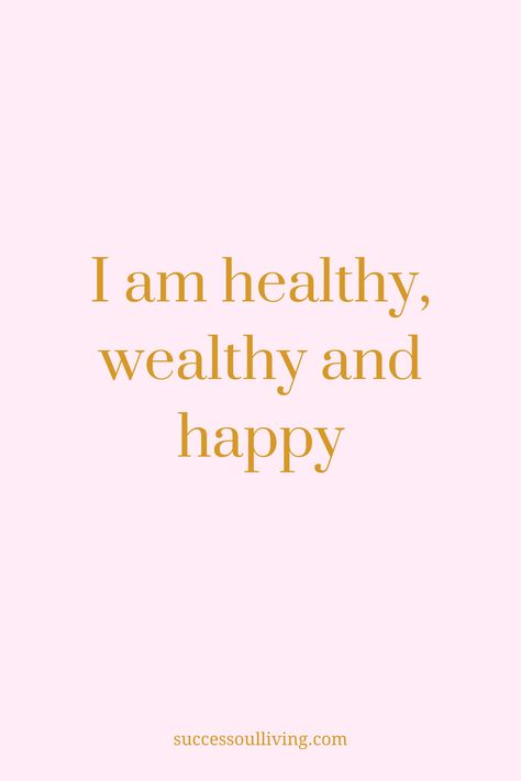 Are you looking for daily affirmations to start manifesting wealth into life? Success-soul® Living shares 58 affirmations for success and abundance using the law of attraction. Affirmations Positives, Positive Affirmations Quotes, Wealth Affirmations, Morning Affirmations, Law Of Attraction Affirmations, Law Of Attraction Quotes, Affirmation Quotes, Motivational Quotes, Inspirational Success Quotes