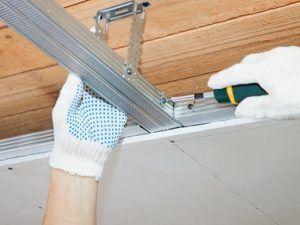 Decke Abhangen Mit Paneelen Und Deckenplatten Heimwerker De In 2020 Deckenplatten Trockenbau Decke Abhangen Trockenbau