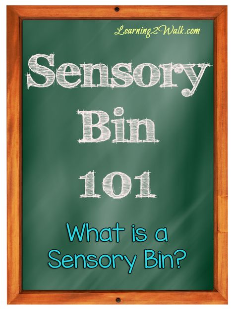 Preschool Sensory Activities: What Is A Sensory Bin?