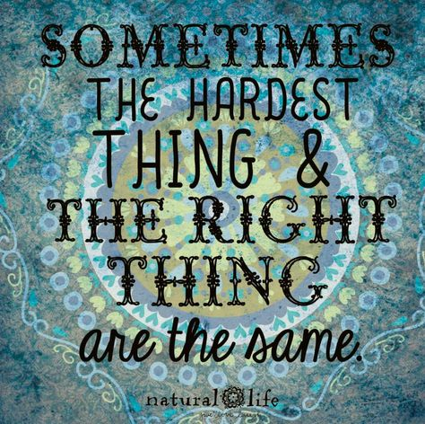 Always Try To Do The Right Thing Even When Its Hard Quotes