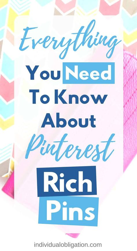 Are you using Pinterest marketing for your blog? If so then you need to read this Pinterest for beginners guide to learn everything you need to know about Pinterest Rich Pins. Including how they work with your Pinterest business account, why they can help grow your blog traffic. And a Pinterest tutorial for how to add them to your WordPress blog. Click here to read all about it! #PinterestMarketing #BloggingForBeginners #BloggingTips #PinterestTips #SocialMediaTips #BlogTips