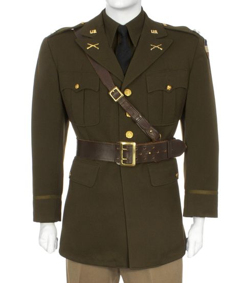 U.S Army Officer's Winter Service Uniform | Eastern Costume : A Motion Picture Wardrobe